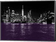 New York City Purple Rain Fine-Art Print