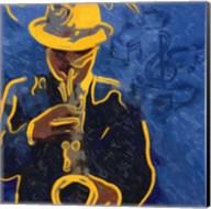 Sax Blues Fine-Art Print