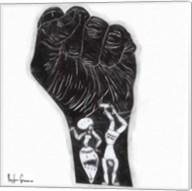 Black Fist Fine-Art Print