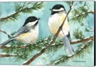 Chickadee Chat Fine-Art Print