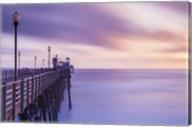 Dusk at the Oceanside Pier Fine-Art Print