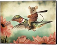 Catching A Ride On A Hummingbird's Back Fine-Art Print