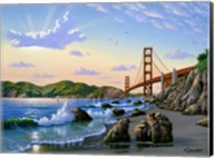 Golden Gate Sunset, CA 2 Fine-Art Print