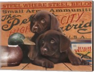 Hunting Puppies Fine-Art Print