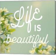 Spring Beauty I Square Fine-Art Print
