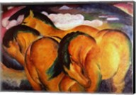 Little Yellow Horses, 1912 Fine-Art Print