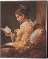 Girl Reading Fine-Art Print