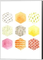 Honeycomb Patterns I Fine-Art Print