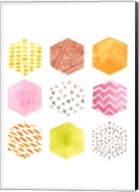 Honeycomb Patterns II Fine-Art Print