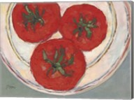 Plate with Tomato Fine-Art Print