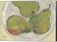Plate with Pear Fine-Art Print
