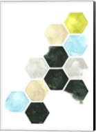 Hazed Honeycomb I Fine-Art Print