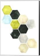 Hazed Honeycomb II Fine-Art Print