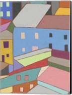 Rooftops in Color I Fine-Art Print