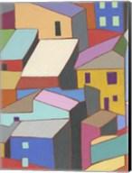 Rooftops in Color II Fine-Art Print