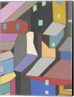 Rooftops in Color V Fine-Art Print
