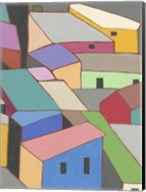 Rooftops in Color VII Fine-Art Print