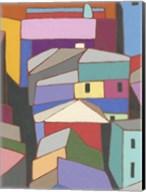 Rooftops in Color IX Fine-Art Print