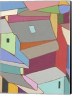 Rooftops in Color XI Fine-Art Print