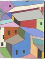 Rooftops in Color XII Fine-Art Print