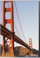 Golden Gate Bridge against a Blue Sky Fine-Art Print