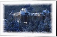 Ski Resort in the Swiss Alps at Winter Fine-Art Print