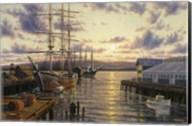 Harbor Sunset Fine-Art Print