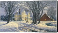 Play Day In The Snow Fine-Art Print