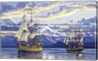 Captain Van Couver Birch Bay, Wa 1792 Fine-Art Print