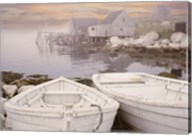 Two Boats at Sunrise, Nova Scotia 11 Fine-Art Print