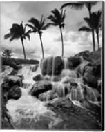 Hawaiian Falls, Big Island Fine-Art Print