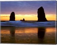 Canyon Beach Sunset, Cannon Beach, Oregon 02 Fine-Art Print