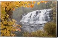 Lower Bond Falls In Autumn #2, Bruce Crossing, MI 11 Fine-Art Print