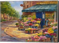 Fleuriste Flower Market Paris Fine-Art Print