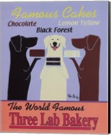 Three Lab Bakery Fine-Art Print