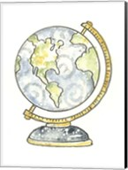 School Globe Fine-Art Print