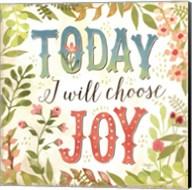 Today I Will Choose Joy Fine-Art Print
