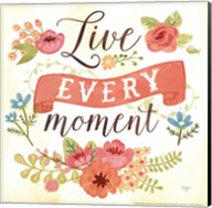Live Every Moment Fine-Art Print