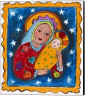 Mexican Inspired Madonna and Child Fine-Art Print