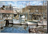 San Francisco Fishrman's Wharf 1941 Fine-Art Print