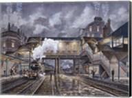 Night Train To Edinbourough Fine-Art Print