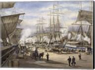 The Green St. Wharf Fine-Art Print