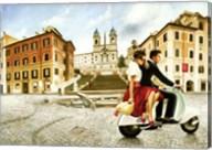 Lovers in Rome Fine-Art Print