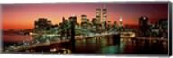 Brooklyn Bridge, NYC Pano Fine-Art Print
