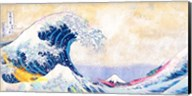 Hokusai's Wave 2.0 (Detail) Fine-Art Print
