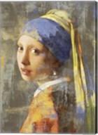 Vermeer's Girl 2.0 Fine-Art Print