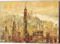 Tramonto su Manhattan Fine-Art Print