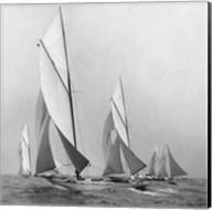 Sailboats Sailing Downwind, 1920 (Detail) Fine-Art Print