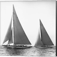 Sailboats in the America's Cup, 1934 (Detail) Fine-Art Print