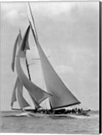 The Schooner Half Moon at Sail, 1910s Fine-Art Print
